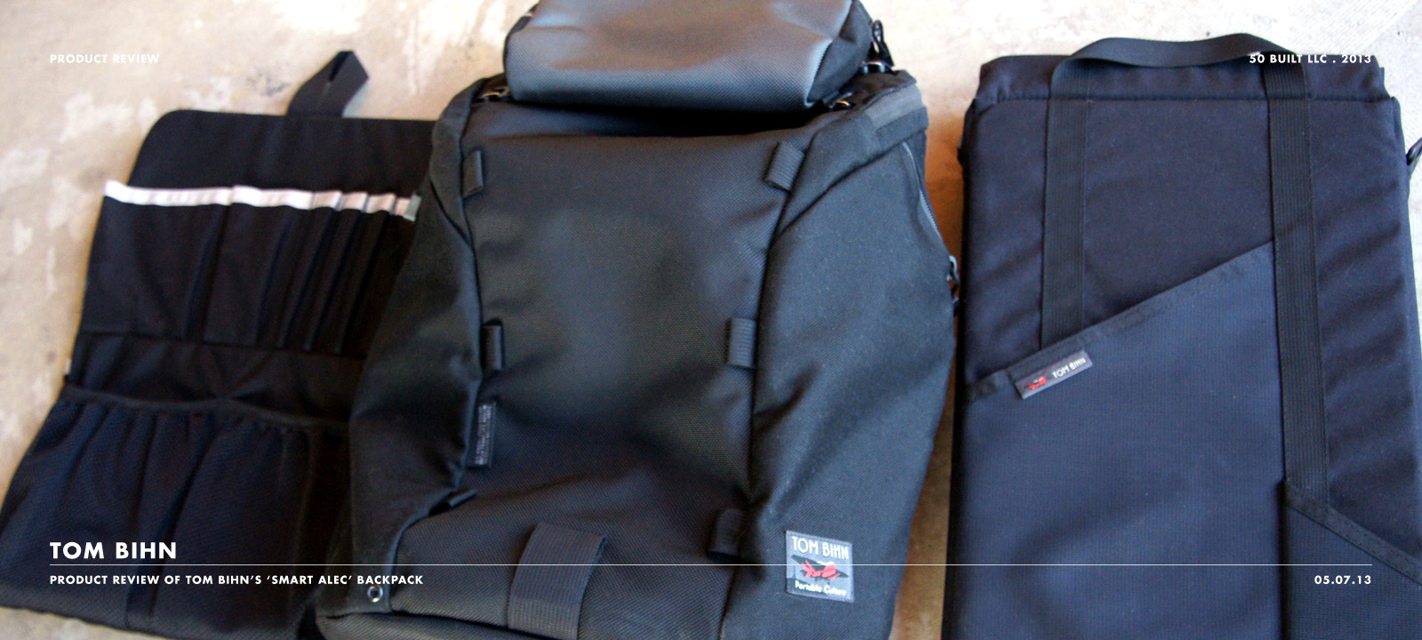 Tom Bihn Smart Alec Bag 50 Built